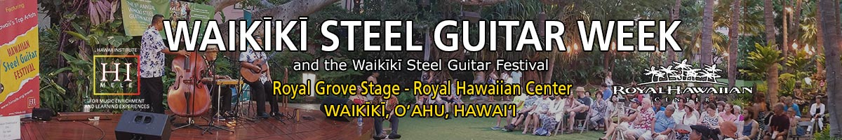 Waikiki Steel Guitar Week